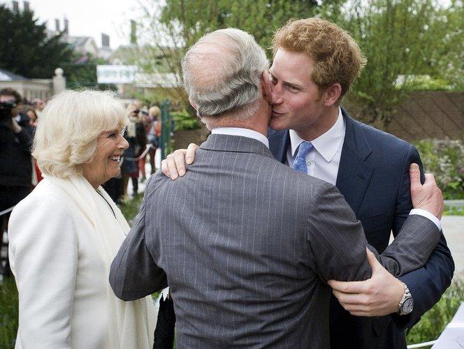 Prinz Charles mit Harry