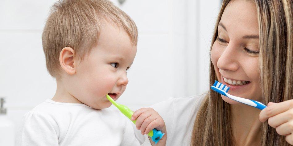 Kind will nicht Zähne putzen