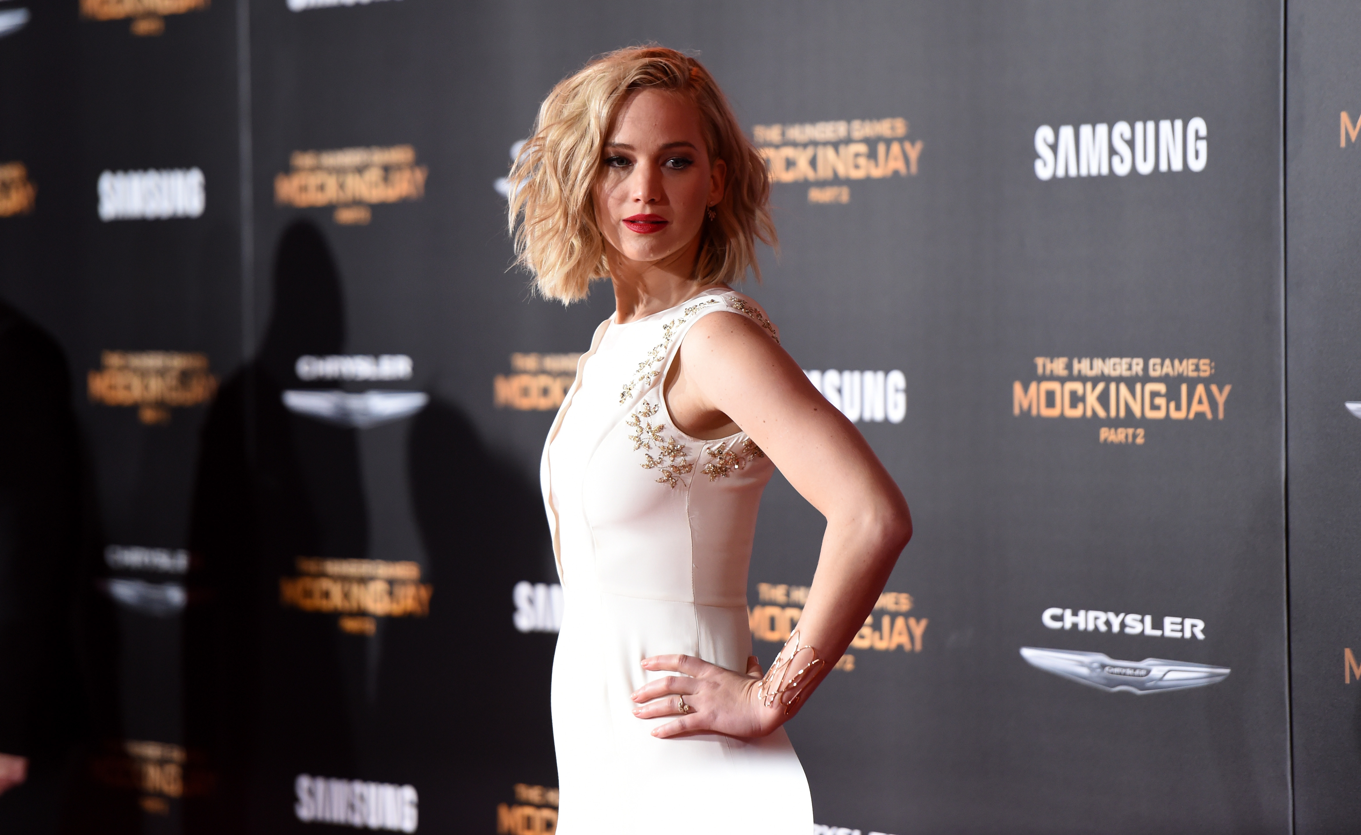 Jennifer Lawrence findet Chris Pratt süß   desired.de