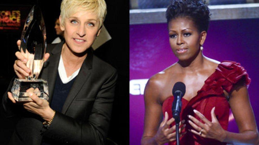 Michelle Obama und Ellen DeGeneres: Zwei starke Frauen