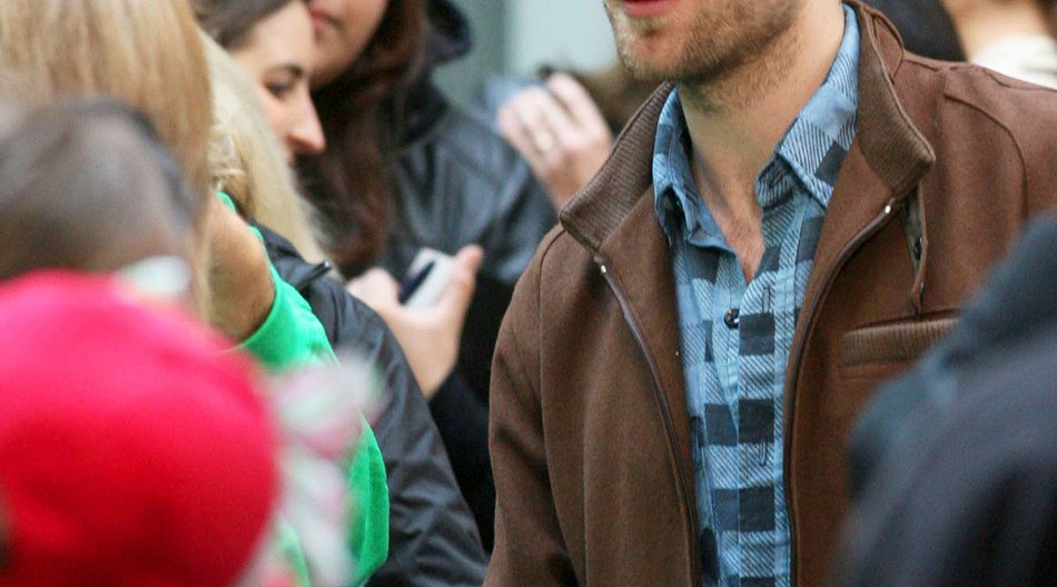 Robert Pattinson nimmt sich Zeit für Fans