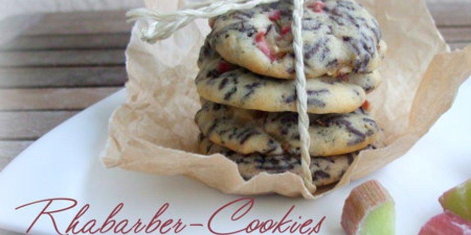 Rhabarber Cookies