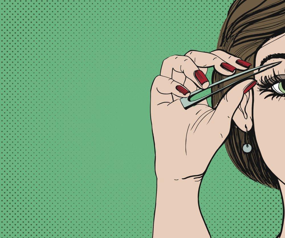 Augenbrauen Monobraue