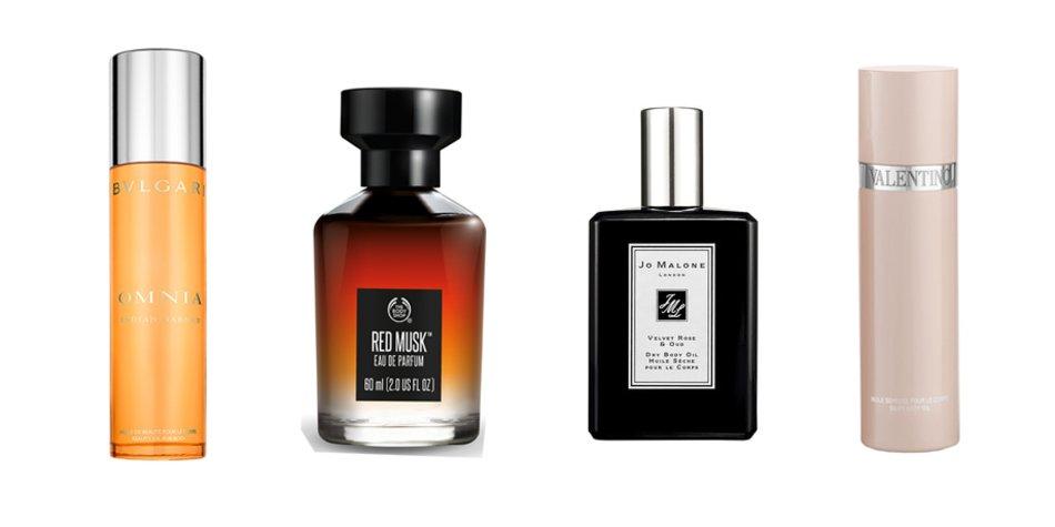 Bvlgari, The Body Shop, Jo Malone, Valentino