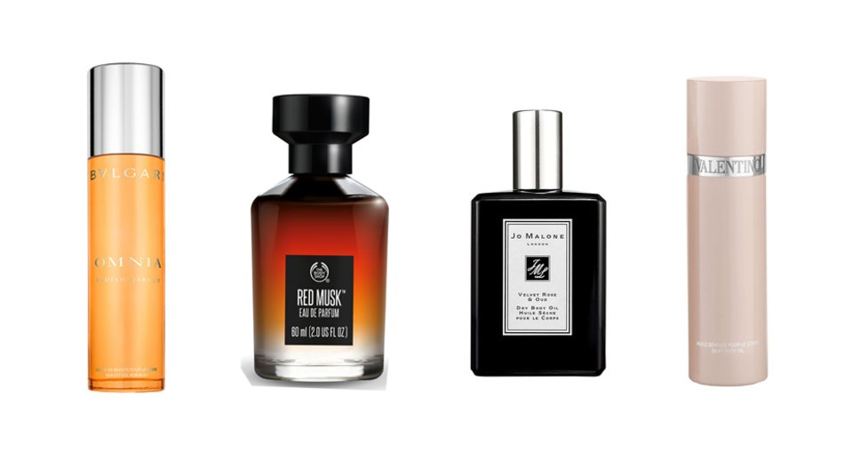 Bvlgari, The Body Shop, Jo Malone, Valentino