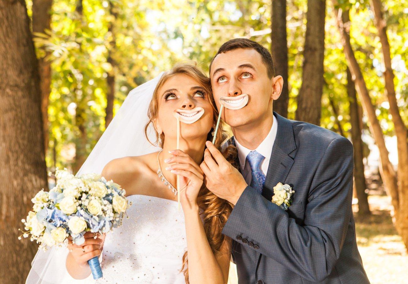 Lustige Hochzeitsspiele für das Brautpaar