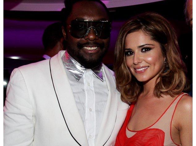 Will.i.am und Cheryl Cole sind wohlauf.