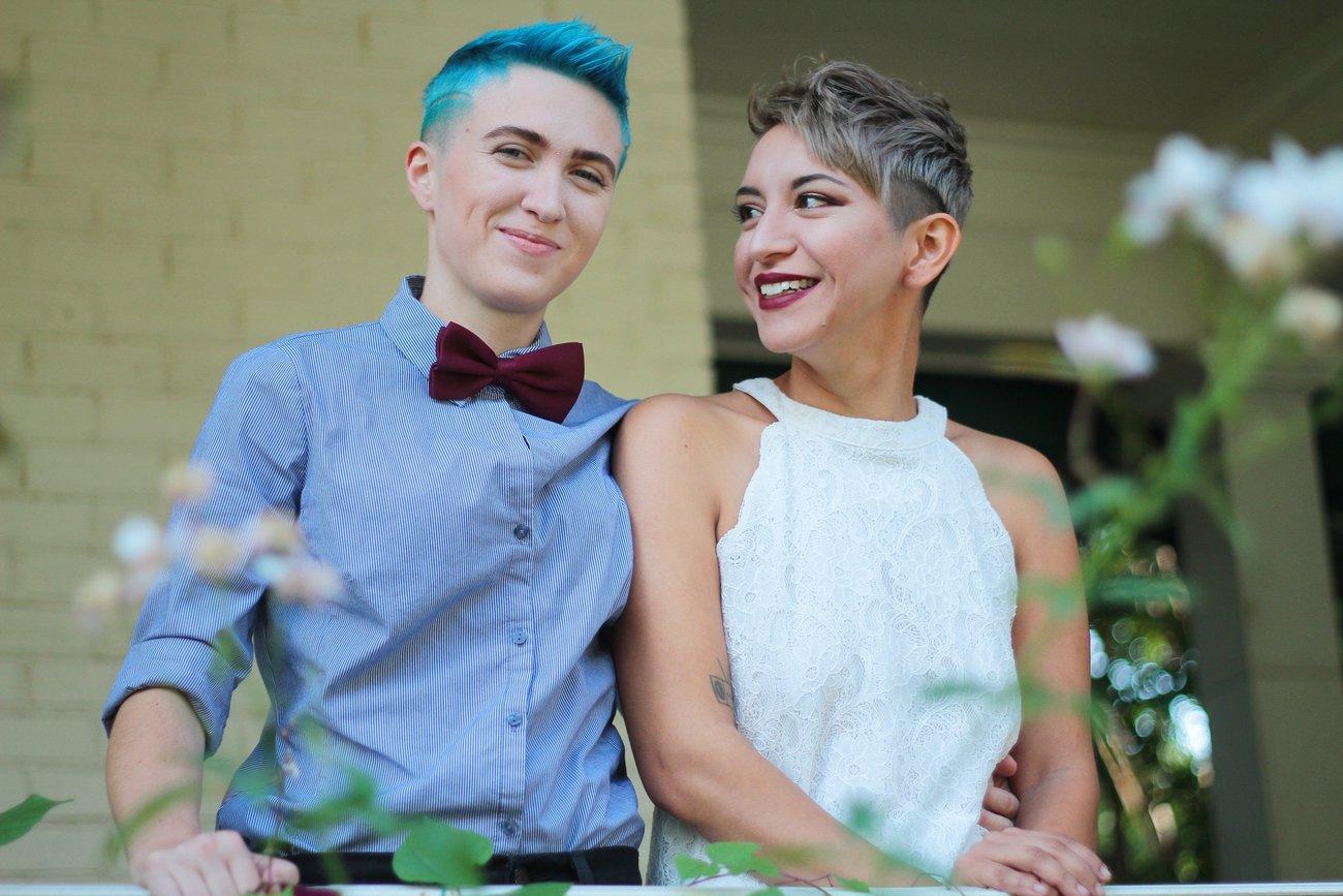 Braut-Outfits für Lesben