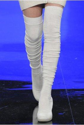 Der neue Sockenschuh von Lacoste- neuer Modetrend.