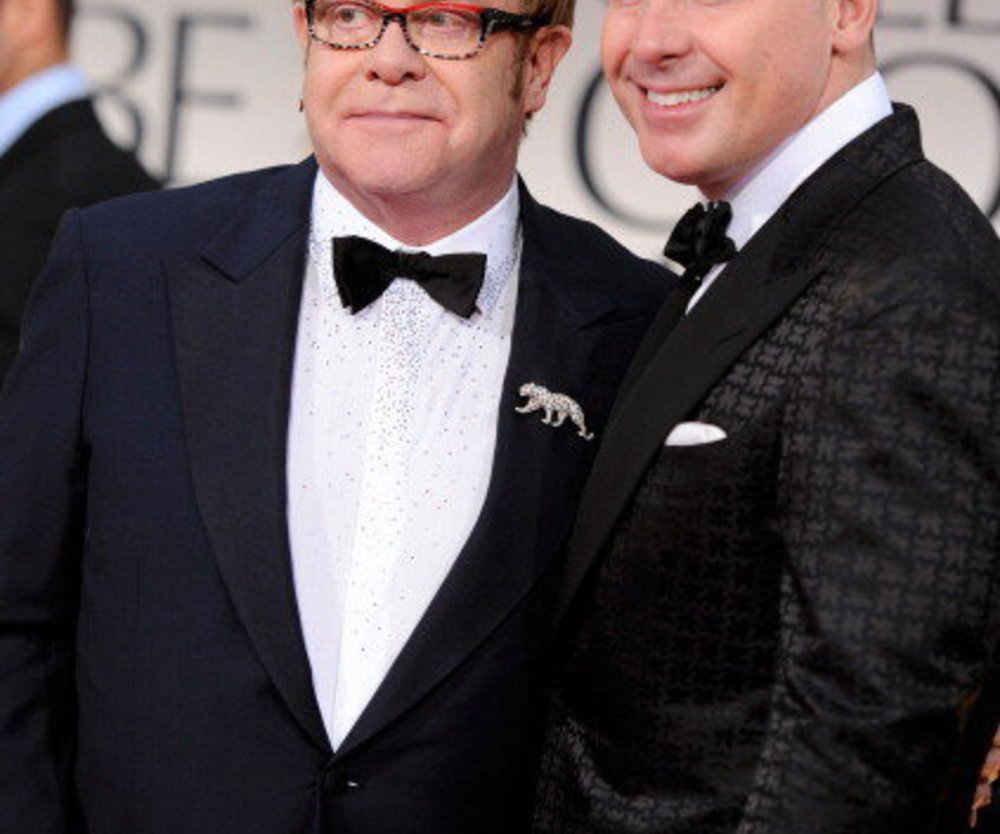 Elton John: Zweites Kind?