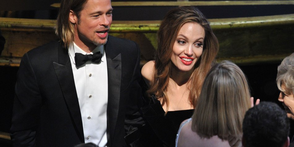Angelina Jolie und Brad Pitt schmeißen eine Party