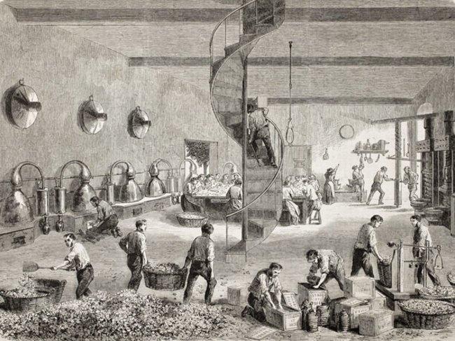 Parfumfabrik aus dem Jahr 1863