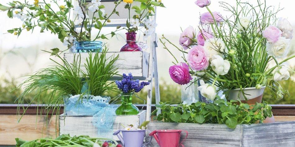 Mit unseren tollen Ideen kannst Du Deinen Balkon in eine wahre Wohlfühl-Oase verwandeln.