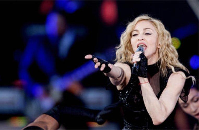 Madonna ist ein Gesangstalent.