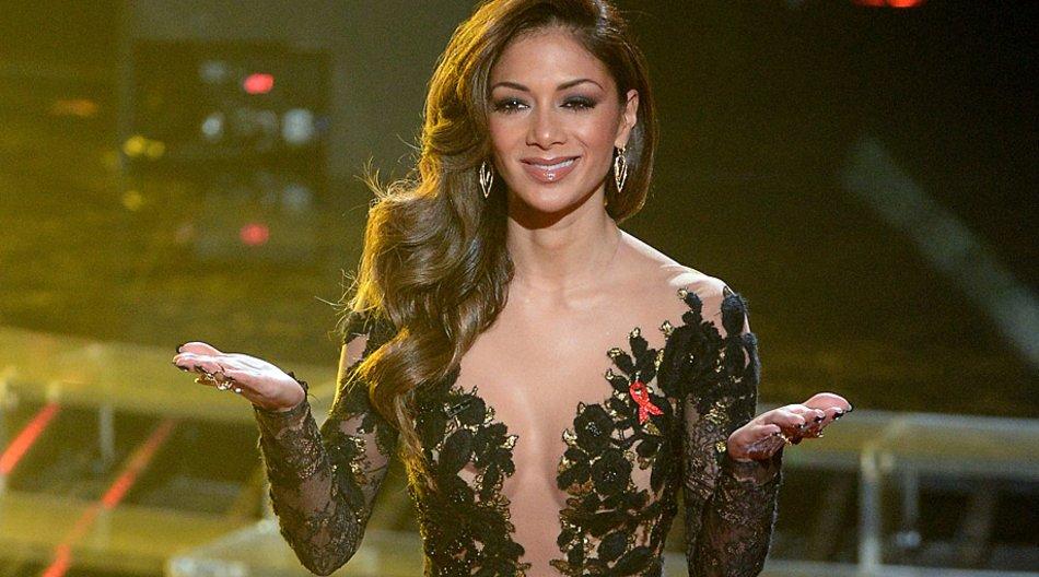 """Nicole Scherzinger bei der amerikanischen Ausgabe der Casting-Show """"The X Factor""""."""