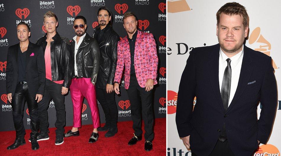 160929_EL News_Backstreet Boys James Corden_David Livingston_Getty Images-610271456_MARK RALSTON_AFP_Getty Images-510336182