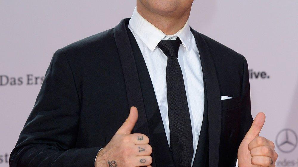 Robbie Williams: Auf diesen Namen hört sein Sohn