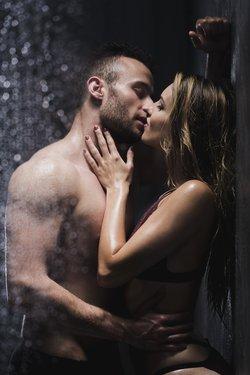 Sex Dusche Paar