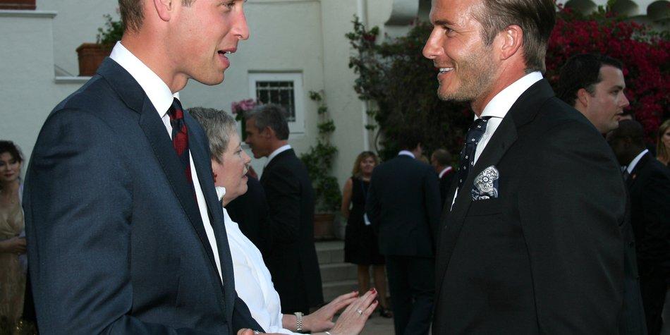 David Beckham: Sein Namensvorschlag für das royale Baby