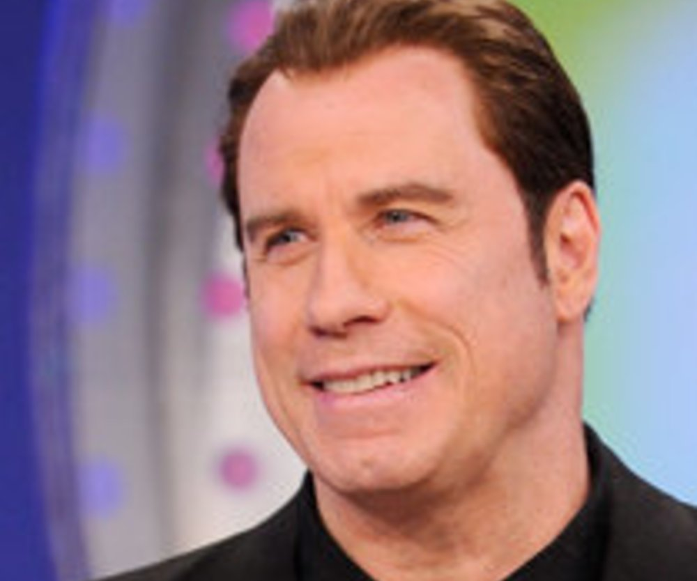John Travolta trägt jetzt Glatze