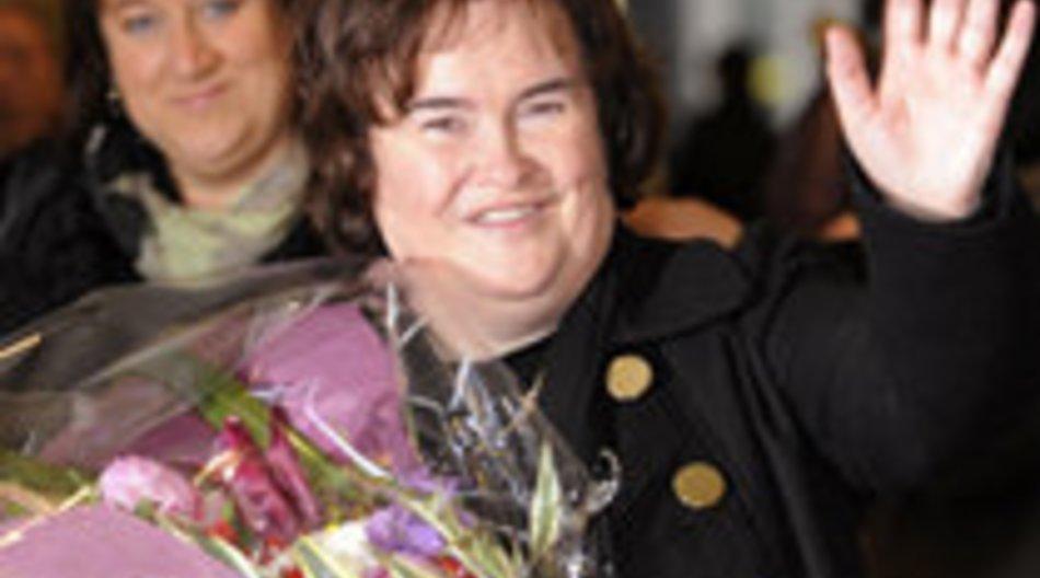 Susan Boyle kämpft sich an die Spitze