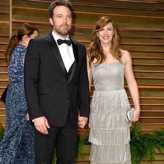 WEST HOLLYWOOD, CA - MARCH 02: Actors Ben Affleck (L) and Jennifer Garner attend the 2014 Vanity Fair Oscar Party hosted by Graydon Carter on March 2, 2014 in West Hollywood, California. (Photo by Pascal Le Segretain/Getty Images)