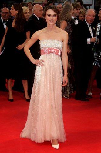 Keira Knightly ist eine berühmte Jungschauspielerin