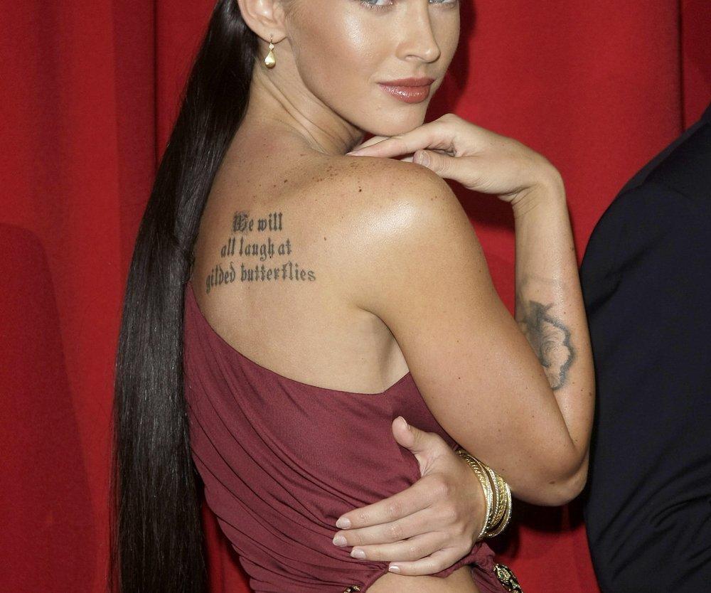 Megan Fox lässt Tattoo entfernen