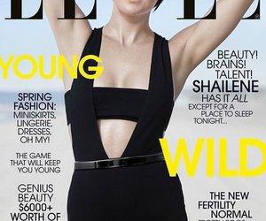"Shailene Woodley auf dem Cover der ""Elle"""