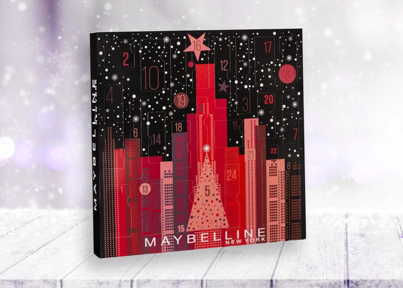 Maybelline Adventskalender 2019