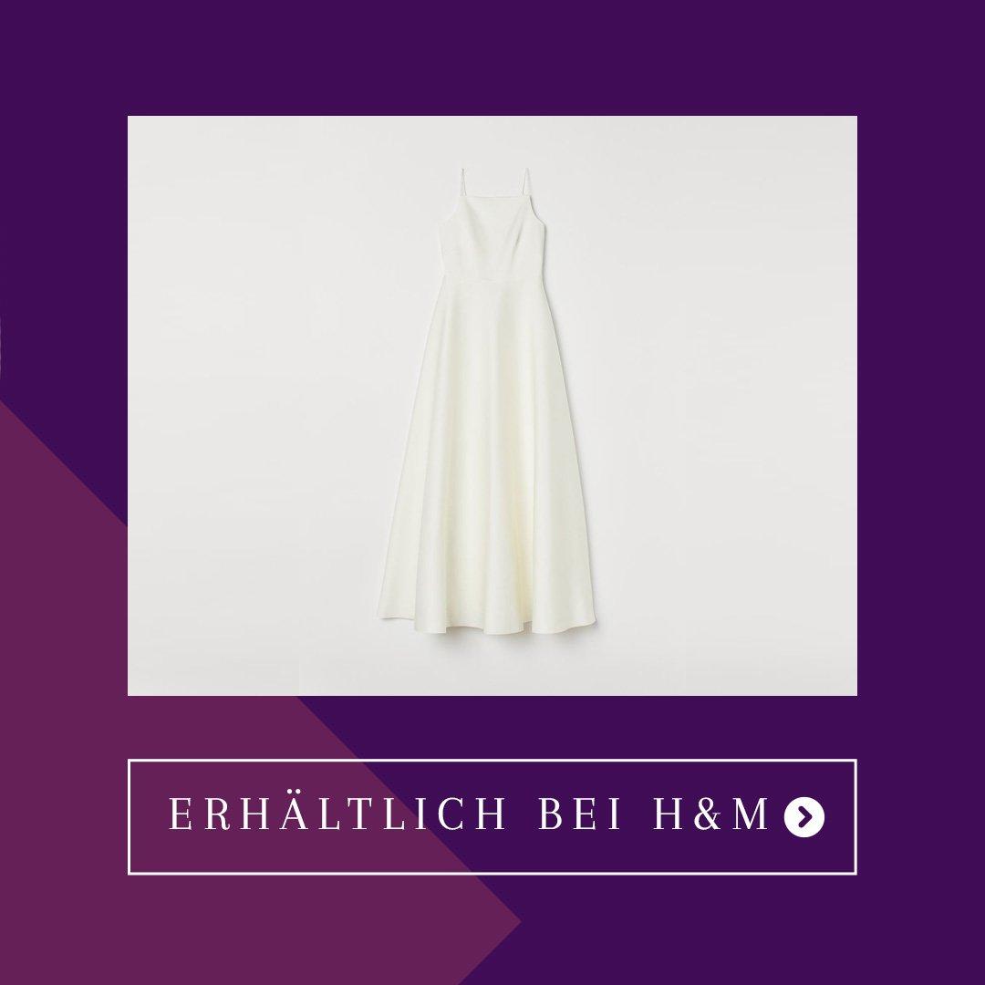 H&M Hochzeitskleid Tellerrock