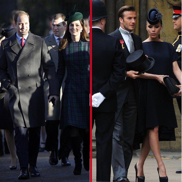 Kate Middleton ist mit Victoria Beckham befreundet