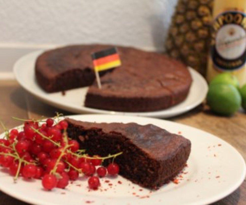 Schokoladen-Eierlikör-Tarte