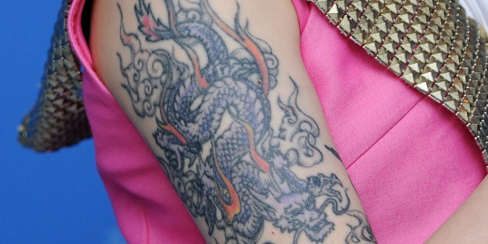 Drachen Tattoo