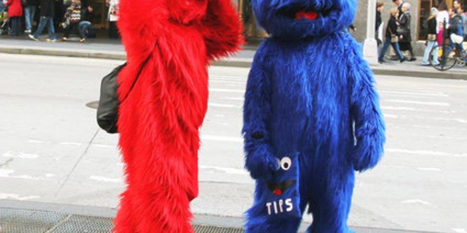 Elmo in der Sesamstraße
