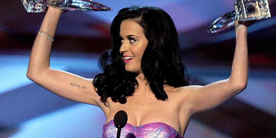 Katy Perry hält sich fit