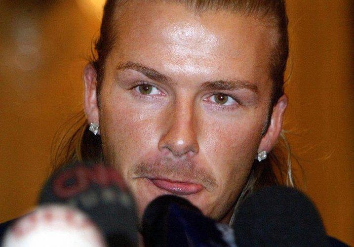 David Beckham gibt eine Pressekonferenz in Istanbul