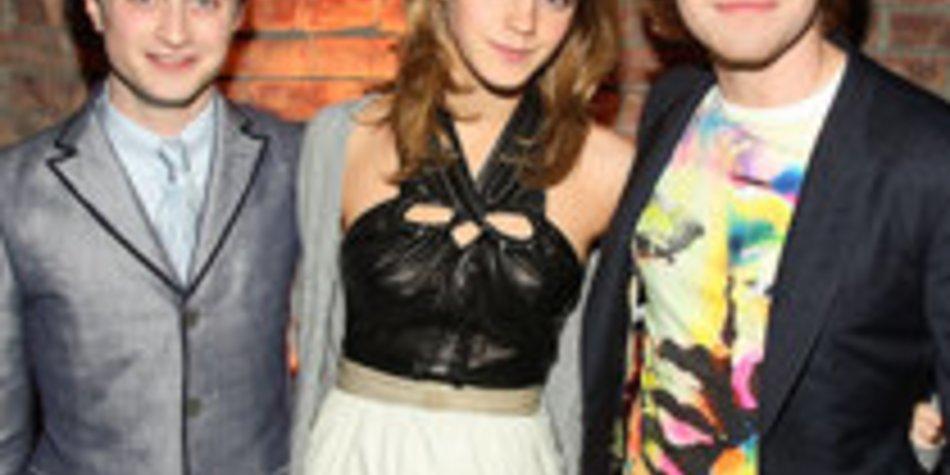 Daniel Radcliffe und Emma Watson: Letzte Drehtage