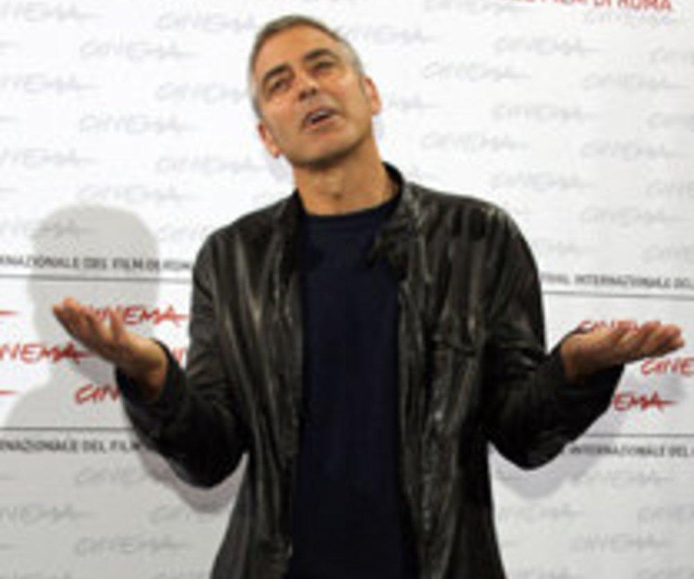 George Clooney auf Nespresso Mission