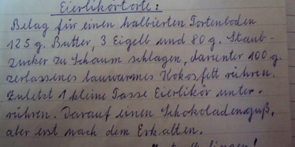 Oma Lottis Eierlikörtorte
