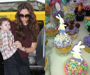 Victoria Beckham backt Cupcakes