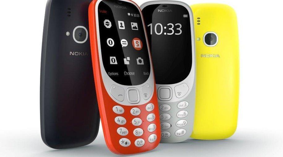 Nokia 3310: Das Kult-Telefon feiert in neuer Version sein Comeback