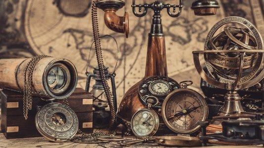 Messinghochzeit Messingkompass