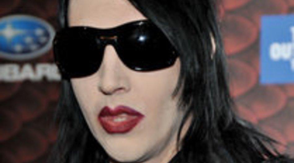 Marilyn Manson hat die Schweinegrippe
