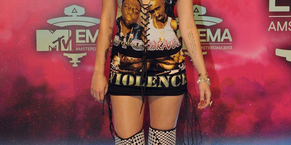 Miley Cyrus: Schockauftritt bei den MTV EMA 2013