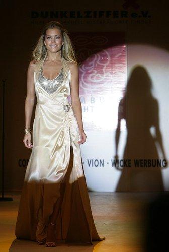 Das niederländische Model Sylvie van der Vaart