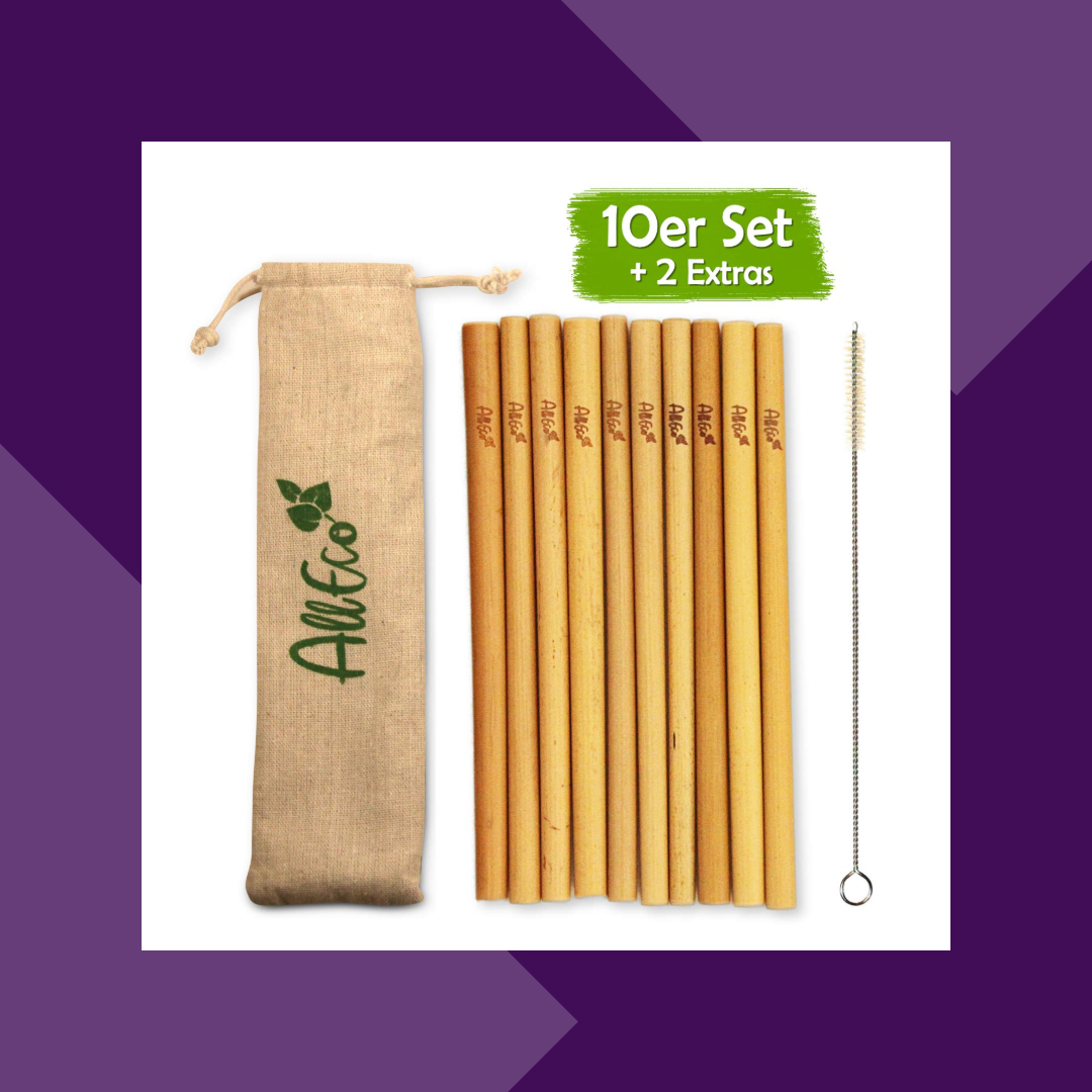 Bambus Trinkhalme