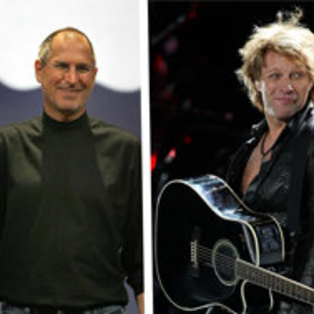 Jon Bon Jovi: Steve Jobs ruiniert die Musikbranche