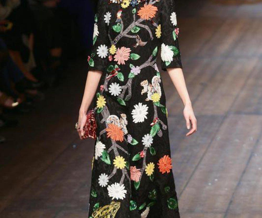 Dolce & Gabbana bei der Mailand Fashion Week Fall/Winter 2014/15