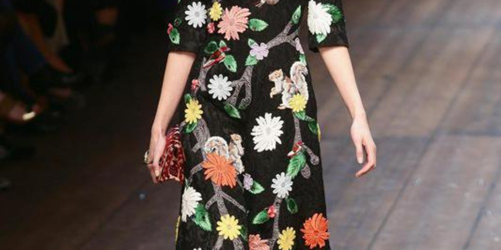 Dolce & Gabbana bei der Mailand Fashion Week Fall/Winter 2014/15